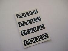 Corgi Juniors  J.60 BUICK  Police Car Sticker  Decals