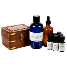 Gift Box Aromatherapy Starter Kit with 8 essential oil bottles