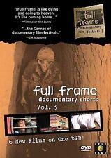 Full Frame Documentary Shorts Collection: Volume 3 (DVD, 2005) Ken Burns