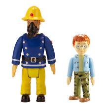 Sam Il Pompiere Pack 2 Figura - sam con Maschera e Norman NUOVO