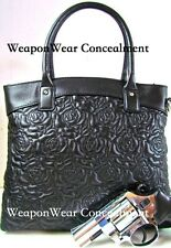 Gun Tote'n Mamas Rose Tote Concealed Carry Concealment Tote Cross Body Purse