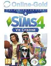 Les Sims 4 Vie Citadine Clé - The Sims 4 City Living Key - EA Origin PC Jeu - FR