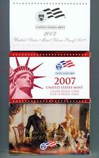 2007 United States Mint Silver Proof Set 14 Coins Certificate of Authenticity
