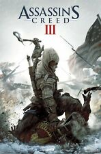 ASSASSIN'S CREED III ~ AX STRANGLE 22x34 Video Game POSTER 3 Connor Kenway