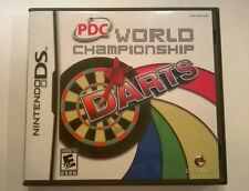 PDC World Championship Darts DS Nintendo Game w/ Instruction Booklet Videogame