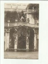 134607 antica cartolina di genova palazzo podesta' cortile spedita 1914