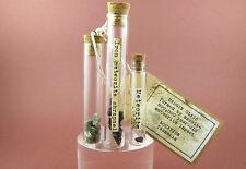 Vintage-Style Historic Museum Meteorite Set / Impact Glass, Stony-Iron and Iron