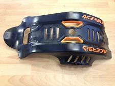 KTM  SXF 450  SX450F  2016 ONLY ACERBIS MX PLASTIC SKID GLIDE PLATE SUMP GUARD