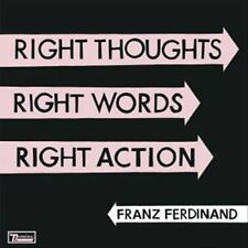 Franz Ferdinand: Right Thoughts Right Words Right Action (180GV) LP 2013 us pres