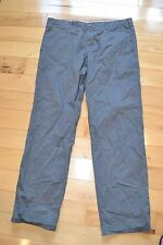 gap 38x34 the lived in relaxed  gray men pants chinos khakis relaxed fit man
