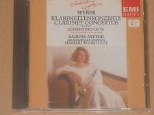 Carl Maria Von Weber, Sabine Meyer, Blomstedt -Klarinettenkonzerte 1&2- CD