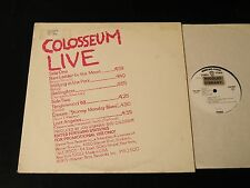 Colosseum Live - RARE PROMO-ONLY Single LP With Alternate Cover!