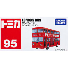 Takara Tomy Tomica #95 London Bus 1/130 Diecast Toy Car JAPAN Free Shipping