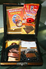 SHANI KAVACH SET IN BOX PACKING WITH BLACK HAKIK MALA AND KAVACH-- MRP 4100