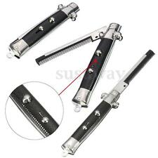 1Pcs Folding Pocket Switchblade Comb Fake Joke Prank Toy Switch Blade Black Gift