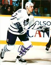 Sergio Momesso autographed 8x10 Toronto Maple Leafs Free Shipping