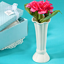 50 Sweet White Flower Vases Wedding Event Bridal Shower Favor Bulk Lot