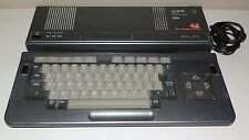 PHILIPS MSX 2 VG-8235/20 VINTAGE COMPUTER  NEW FLOPPY BELT GOOD CONDITION  MSX2