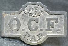 VINTAGE OCF Order of Chosen Friends FAP BADGE