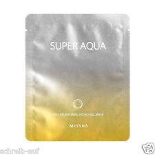 3x MISSHA Super Aqua Cell Renew Snail Hydrogel Maske