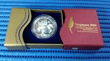 2006 Singapore IMF World Bank Group $5 Commemorative Silver Proof Coin