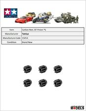 Mini 4wd CARBON REINFORCED 8T PINION GEAR (6PCS.) Tamiya 15453 New Nuovo