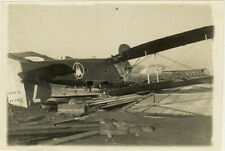 Photo Argentique Aviation Avion Accident Plane Crash Vers 1930