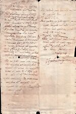 DOCUMENTO DEL 1669 -CHIESA DI S. AGNO - AGNI - ENTRA E LEGGI ! (C7-80)