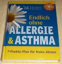 NEU, OVP - Endlich ohne ALLERGIE & ASTHMA - Heuschnupfen - 7-Punkte-Plan - HC