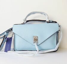 NWT REBECCA MINKOFF Darren Small Messenger Bag ~ Sky