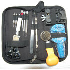 13 piece Watch Repair Tool Kit Case Battery Opener Link Remover Screwdrivers SX