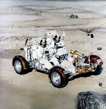 8x10 Print NASA Apollo 16 Moon Rover Testing #1a365