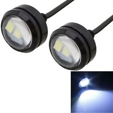 2 PCS  22.5mm 1.5W 150LM White Light 3 LED SMD 5630 Spotlight Eagle Eye Light Da