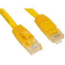 50FT RJ45 CAT5 CAT5E ETHERNET LAN NETWORK yellow Patch CABLE Brand New 15M