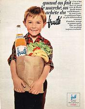 PUBLICITE  1966   EVIAN FRUITE  eau  boisson