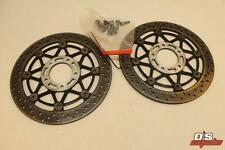 04-05 Suzuki Gsxr 600 750 Complete Front Brake Rotors Oem Pair Of Discs Straight