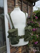 WWII 1945 British Military 1944 Pattern Full Webbing Set inc Officer's Haversack