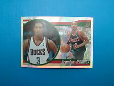 2010-11 Panini NBA Sticker Collection n.101 Brandon Jennings Milwaukee Bucks