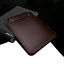 GARIZ Leather Case Bag Pouch for Apple iPad Pro 12.9 PL-IPDPBR Brown