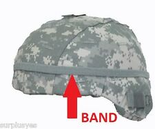 BAND HELMET w CAT EYES for MICH PASGT ACU ARMY MILITARY w SHELBY P38 Can Opener