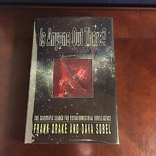 1-of-kind (see descript) SIGNED FRANK DRAKE Is Anyone Out There? 1st Ed UFO SETI