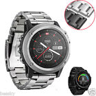 Luxury Strap Bracelet Metal Stainless Steel Watch Band For Garmin Fenix 3 / HR