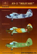 Hungarian Aero Decals 1/48 ANTONOV An-2 COLT Military Versions
