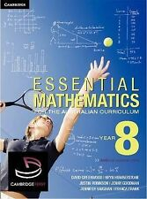 Essential Mathematics for the Australian Curriculum Year 8 by Franca Frank, Jen…