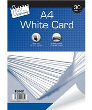 30 feuilles 150GSM A4 white paper board pad carte artists sketch projets art 5095