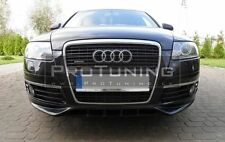 Audi A6 4F C6 04-08 Front Bumper spoiler S line look style Valance addon abt s6