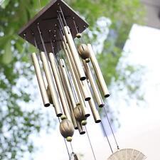 Windharfe Sektor 12 Klangröhren Feng Shui Klangspiel Windspiel 60cm
