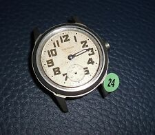 24)⌚ WALTHAM 40er Vintage Military Watch WW II WK 2 US Army Parts Case Mouvement