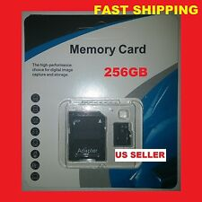 256GB Micro SD SDXC Flash TF Memory Card Class 10 Micro SD With Adapter FAST SHP