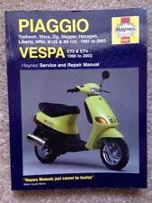 1991 1992 - 1996 1997 1998 1999 2000 2001 2002 2003 PIAGGIO VESPA REPAIR MANUAL